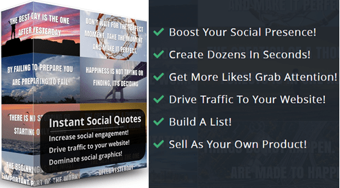 Instant Social Quote Review-benefits