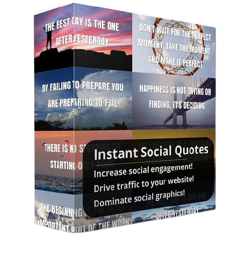 Instant Social Quote Review-ebook