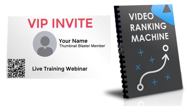 video ranking machine-Thumbnail Blaster Review