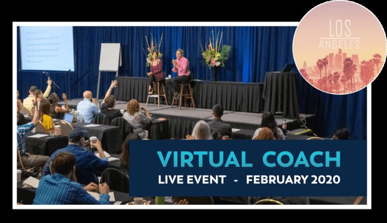 A ticket to Virtual Coach Live: